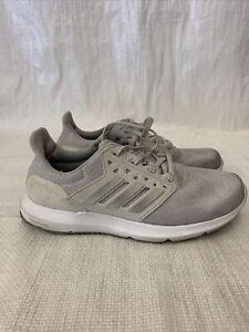 #138 Adidas Women Size 6.5 Solyx Training Shoes Running Gray White B43725