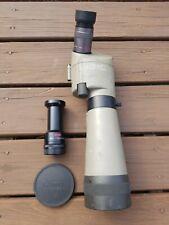 KOWA Spotting Scope TSN-821 20x-60x lens & kowa 1:10.4/850 adapter