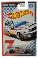 Hot Wheels Racing Circuit Series '15 Shelby Gt 500 Super Snake 7/10, silver