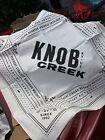 NEW Knob Creek Whiskey Bourbon Logo Bandanna Lot Of 5