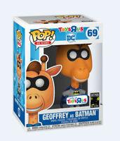Funko POP! DC: Batman - Geoffrey As Batman #69 - Toys R us - *Damaged box*