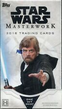 Star Wars Masterwork 2018 Factory Sealed Trading Card Mini Box
