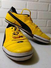 Super Rare Puma Black And Yellow Shoes