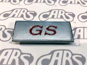 1969 Buick GS Door Panel Emblem | GS 350 | GS 400 | Skylark