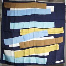 Foulard carré de soie CHRISTIAN DIOR  76 cm x 74 cm vintage