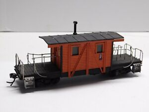 HO Scale - Custom Milwaukee Transfer Caboose Train Car NICE!