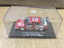 ALFA ROMEO 155 V6 TI 'TARQUINI' ITC 1996 RED 1:43 ONYX DIE-CAST MODEL *BOXED*