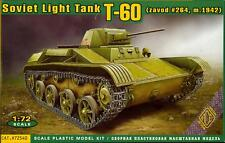 Ace Models 1/72 Soviet World War II T-60 LIGHT TANK (zavod #264 M.1942)