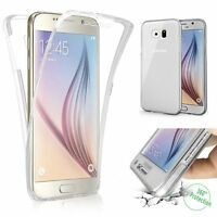 Funda Doble Delante Trasera Gel Samsung Galaxy A5 A7 A8 J5 J7 S8 S9 + S6 S7 Edge