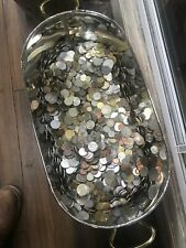Mixed Antique And  Modern Coins From Around The World 1.5 Kilos 🌟🌟🌟🌟
