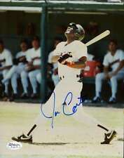 JOE CARTER ORIGINAL 1/1 SIGNED 8x10 PHOTO JSA CERT STICKER AUTHENTIC AUTOGRAPH