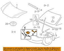 TOYOTA OEM 00-05 Echo Hood-Lock Latch 5351052130