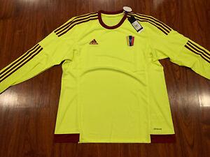 2015-16 Adidas Men's Venezuela Long Sleeve Away Soccer Jersey Extra Large XL