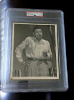 Babe Ruth PSA Type 1 Original News Sevice Photo 54th Birthday