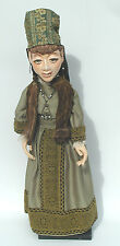 Vintage Lewis Mahlmann Professional Hand-Made Puppet/Marionette - Noble Woman