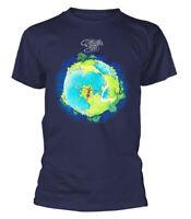 Yes T Shirt Fragile Officially Licensed Mens Blue Prog Rock Merch NEW
