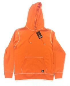 NEW Converse x Vince Staples Mens Size Large Pullover Hoodie 10008010-816 Orange