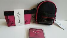 Kendall + Kylie Pink Cosmetic Bag, Crossbody, and Wallet With Keychain