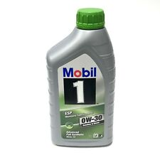 Mobil 1 ESP 0W-30 Advanced Full Synthetic Motor Oil 1L Maintains Fuel Economy