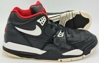 Nike Air Flight 89 Mid Leather Trainers 306252-016 Black/White UK10/US11/EU45