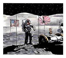 ANGOLA 1999 SPACE RESEARCH =APOLLO 11 x5 (FIVE !!!!) S/S MOON & SHUTTLE MNH