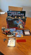 Vintage G1 Transformers Autobot Wreck-Gar 1986 Hasbro Takara