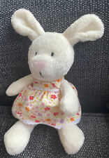 Mothercare Ditsy Bunny Rabbit Soft toy Comforter Cream in Floral dress Baby
