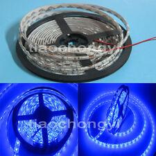 Blue Waterproof 5050 SMD 300LED 5M 60LED/M Light Strip Lamp Car Flexible 12V