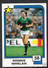 PANINI CALCIO CARD - 1988 SUPERSTARS CALCIO-N. 58-Ronnie Whelan-Irlanda