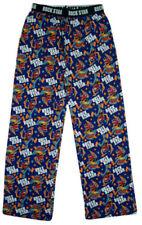 Pijamas y batas de hombre Pantalón largo de color principal azul