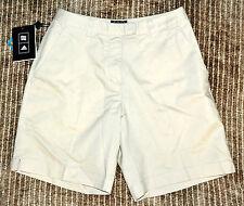 NWT $55 Adidas STRETCH Women's High Waist Bermuda Casual Khaki Golf Shorts 2X8