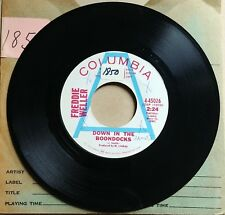 FREDDY WELLER Amarillo Texas/Down In The Boondocks COUNTRY PROMO Vinyl 45 7""