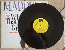 MADONNA RARE ITALIAN MAXI SINGLE WHO S THAT GIRL