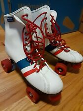 New listing Retro Red White and Blue Roller Derby Skates Size 6