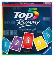 Ravensburger Top 5 Rummy Brettspiel Glücksspiel Quizspiel Spiel Partyspiel Party