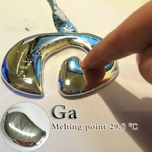 Metal Element 31  G A  Educational Toy Liquid Metal  Low Melting Point29.76° C
