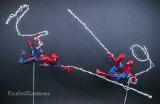 Marvel Legends Spider-Man Custom Web Effects Set Spaghetti Mafex 1:12 Scale