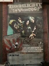 More details for trashlight vision uk tour poster signed - murderdolls - acey slade wednesday 13