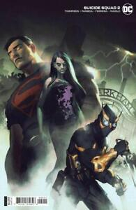 Suicide Squad #2 Card Stock Variant  DC Comics 2021  NM + 9.6