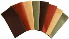 Fall Harvest Cloth Dinner Napkins (Set of 8) Assorted Fall Colors