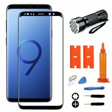 For Samsung Galaxy S8 S9+ Note 8 Front Screen Glass Lens Replacement Tools Kits