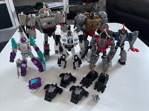 Transformers Titans Return Power Of The Prime Job Lot Megatron Grimlock Jazz