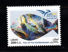 LEBANON - LIBAN MNH SC# 742 FISH OF THE MEDITERRANEAN