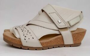 Earth Origins Kendra Khloe Wide Leather Wedge Sandals MSRP $79 Pick Color & Size