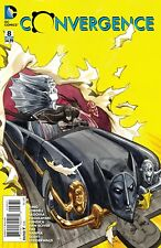 CONVERGENCE #8 1:25 JILL THOMPSON VARIANT DC COMICS FUNNY BATMAN METAL MEN NM