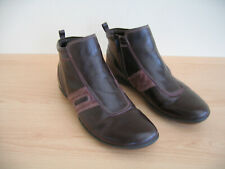Ecco Shoes / Boots Size 41 UK 7 Brown Leather
