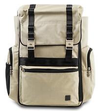 Ju Ju Be Xy Hatch Baby Diaper Bag Backpack w/ Changing Pad Wheat New