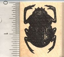 Egyptian Scarab Beetle Rubber Stamp, Symbol of Power E1113 WM