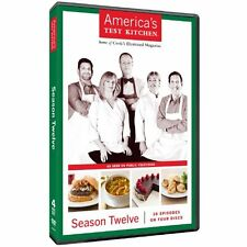 NEW Americas Test Kitchen Season Twelve DVD 2012 4-Disc Set PBS Cooking Culinary