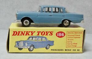 Replica box mercedes 220se dinky toys 1963